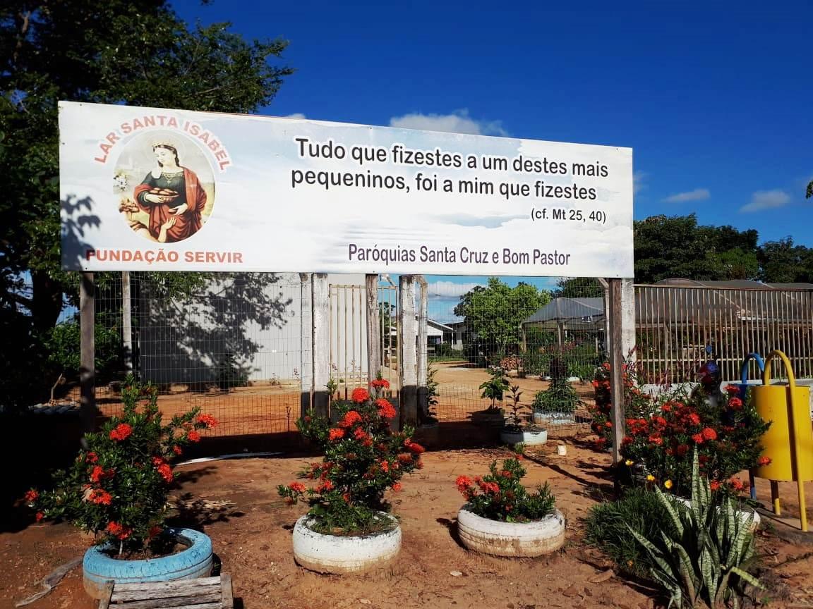 Lar Santa Isabel - Entrada