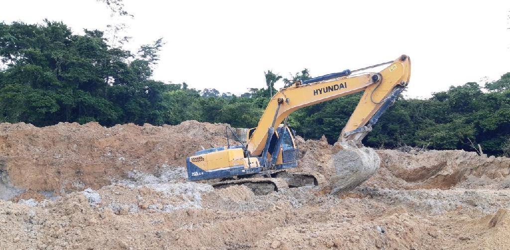 Maquinas apreendidos durante ação da PJC