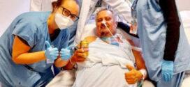 Paciente ganha cervejinha na UTI após 45 dias internado por Covid-19