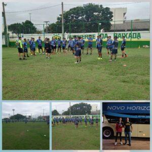 Atleta Paranaitense faz avaliação no Cuiabá Futebol Clube