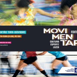 O edital Movimentar foi lançado, saiba como participar