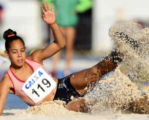Lissandra Campos é Mato Grosso no Mundial de Atletismo que acontece no Quênia