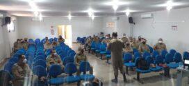 Militares da 7ª CIBM, 12ª CIBM (Colíder) e NBM de Guarantã do Norte recebem palestra da Corregedoria-Geral acerca do Projeto de Lei que institui o Código de Ética E Disciplina dos Militares de Mato Grosso