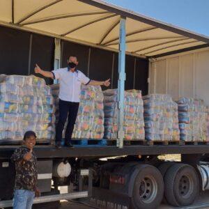 Rotary entrega 1.500 cesta para municípios da região norte