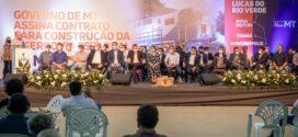 1ª Ferrovia Estadual vai impactar 26 municípios que concentram 41% da produção de grãos de MT