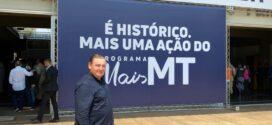 Para o deputado Nininho, MT confirma a era do desenvolvimento com a nova malha ferroviária