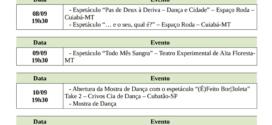 """""""I FESTIVAL FLORESTA DANÇA"""" TEM INÍCIO NESTE DIA 7 DE SETEMBRO"""