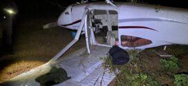 MT: ação conjunta apreende aeronave com mais 290 kg de entorpecentes