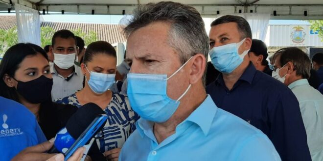 Mauro afirma que estuda possibilidade de vacinação contra Covid-19 em adolescentes de Mato Grosso