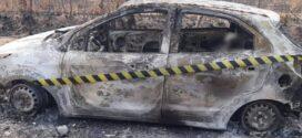 Mulher é sequestrada por criminosos por suposta dívida e corpo é achado carbonizado em carro em MT