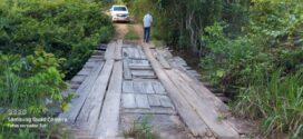 Presidente Tuti cobra recuperação urgente de ponte e bueiro na Quinta Leste