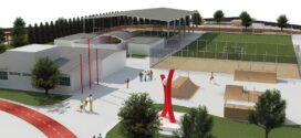 Vereador Menin entrega projeto da Praça da Juventude para os deputados Dilmar Dal Bosco e Juarez Costa