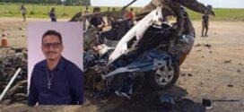 """Vereador em MT deixa """"carta de despedida""""; bate carro em carreta e morre"""